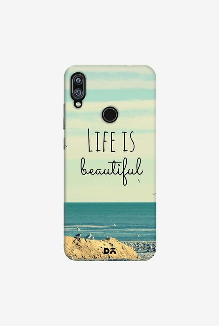 DailyObjects Life Is Beautiful Case Cover For Redmi Note 7