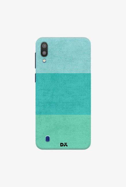 DailyObjects Three Stripes Teal Case Cover For Samsung Galaxy M10