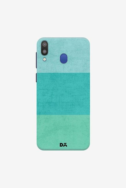 DailyObjects Three Stripes Teal Case Cover For Samsung Galaxy M20