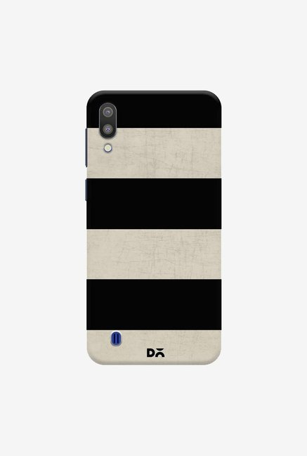 DailyObjects Vintage Black Stripes Case Cover For Samsung Galaxy M10