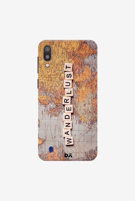 DailyObjects Wanderlust Map Case Cover For Samsung Galaxy M10