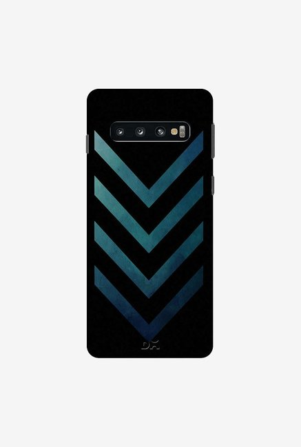 DailyObjects Dark Blue Arrow Case Cover For Samsung Galaxy S10