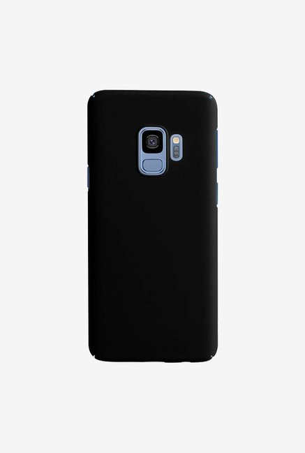 DailyObjects Black Matte Reveal Case Cover For Samsung Galaxy S9