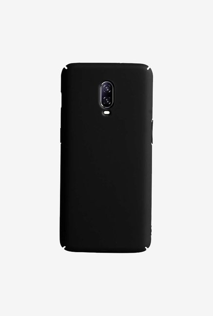 DailyObjects Black Matte Reveal Case Cover For OnePlus 6T