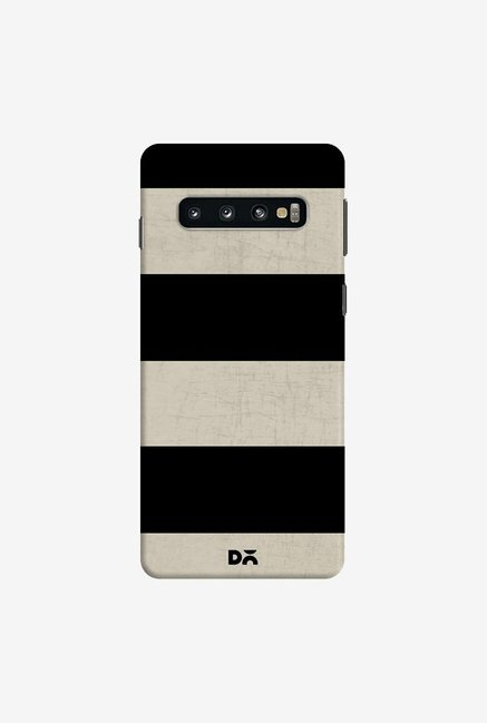 DailyObjects Vintage Black Stripes Case Cover For Samsung Galaxy S10