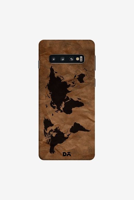 DailyObjects Wrinkled World Map Case Cover For Samsung Galaxy S10