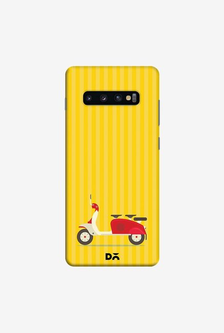DailyObjects 3 To Go Yellow Case Cover For Samsung Galaxy S10 Plus