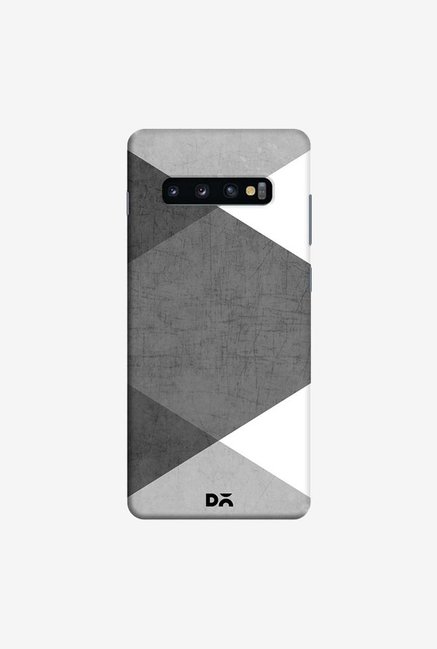 DailyObjects Black and White Case Cover For Samsung Galaxy S10 Plus