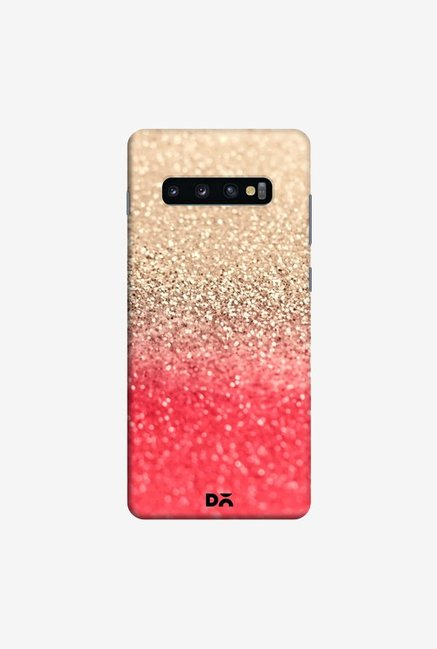 DailyObjects Gatsby Coral Gold Case Cover For Samsung Galaxy S10 Plus