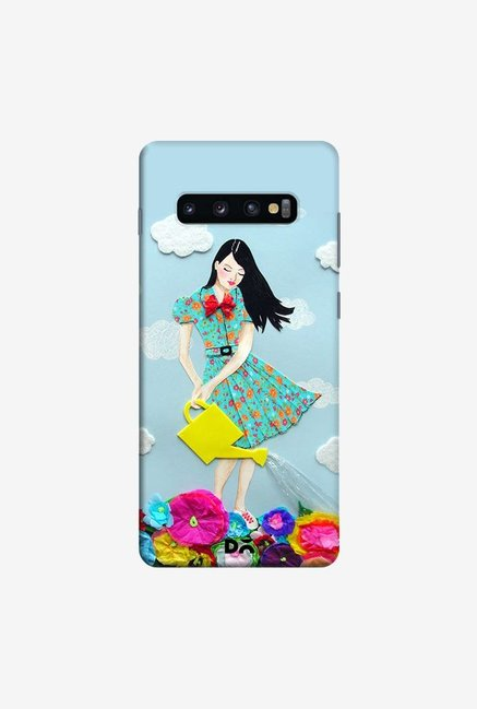 DailyObjects Girl In Case Cover For Samsung Galaxy S10 Plus