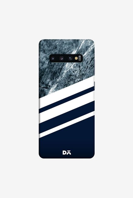 DailyObjects Marble Navy Case Cover For Samsung Galaxy S10 Plus