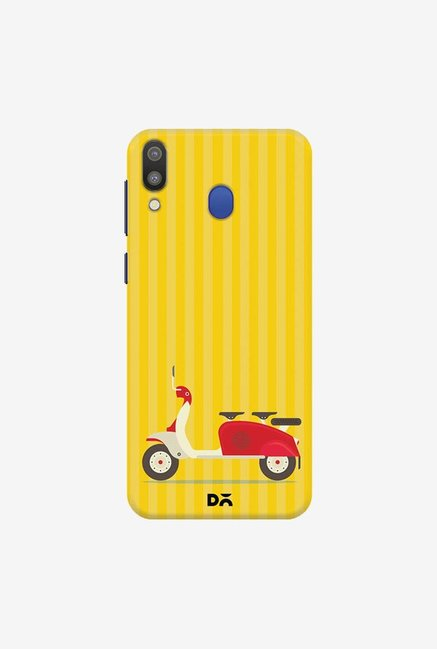 DailyObjects 3 To Go Yellow Case Cover For Samsung Galaxy M20