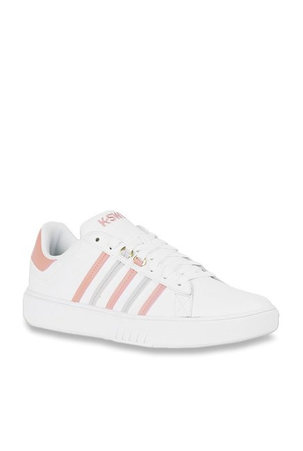aea1bd1a3ccf9 Buy K-Swiss White Casual Sneakers for Women at Best Price @ Tata CLiQ