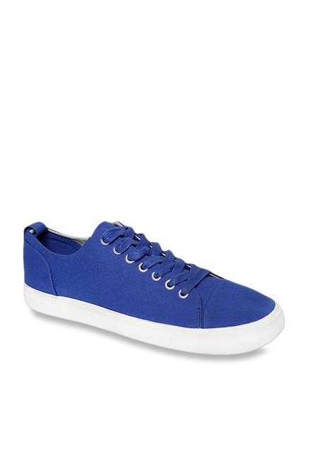 Benetton Blue Casual Sneakers