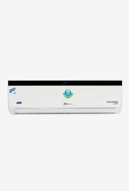 Carrier 1.5 Ton Inverter 5 Star Copper Durafresh Neo X CAI18DN5R39F0 Split AC  White