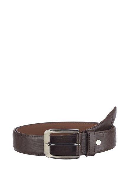 Kara Dark Brown Formal Belt for Men