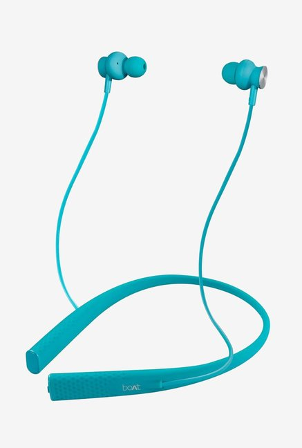 Boat Rockerz 275 Bluetooth Neckband With Mic  Electric Blue