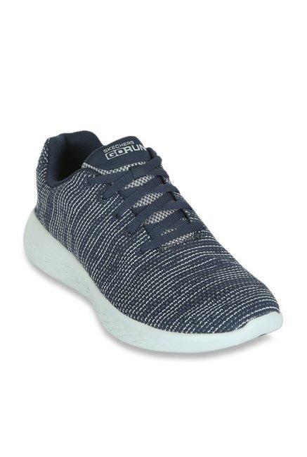 a9cb528975b Buy Skechers Go Run 600 Navy Walking Shoes for Women at Best ...