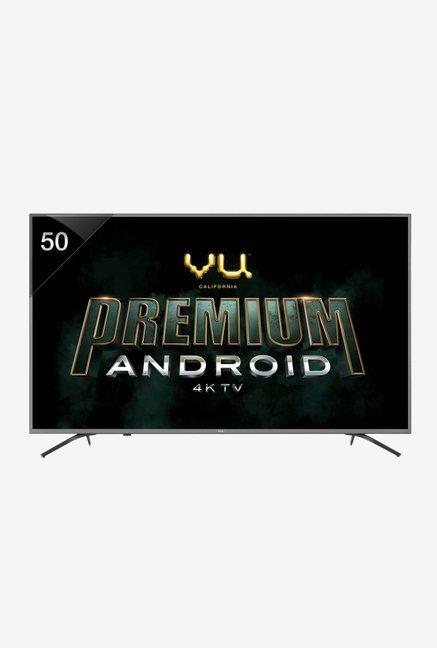 Vu 126 cm (50 Inches) Smart 4K Ultra HD Android LED TV 50-OA (Titanium Grey)