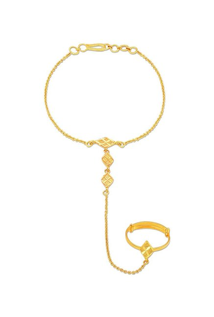 09e8c7a16 Buy Malabar Gold and Diamonds 22 kt Gold Anklet Online At Best Price @ Tata  CLiQ