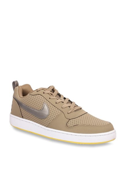 Compasión S t Lujoso  Buy Nike Court Borough Low Khaki Sneakers for Men at Best Price ...