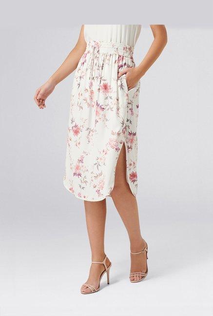 275f176ea3 Buy Forever New Off white Floral Print Skirt for Women Online @ Tata CLiQ