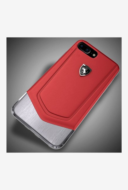 Buy Ferrari Leather + Metal Case Back Cover For iPhone 8 Plus Online At  Best Price @ Tata CLiQ