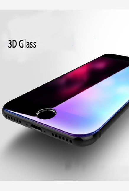 Vaku Samsung Galaxy A9 Pro 5D Curved Edge Ultra Strong Full Screen Tempered Glass  Black