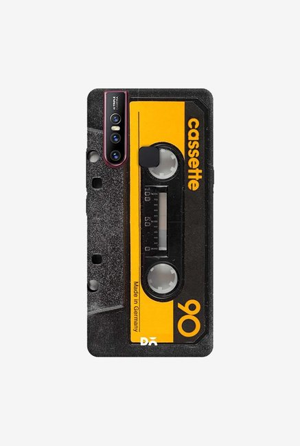 DailyObjects Cassette Yellow Case Cover For Vivo V15