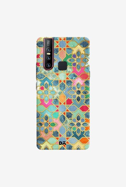 DailyObjects Gilt and Glory Moroccan Mosaic Case Cover For Vivo V15