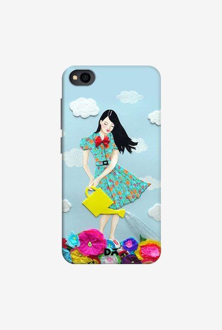 DailyObjects Girl In Flowerland Case Cover For Xiaomi Redmi Go