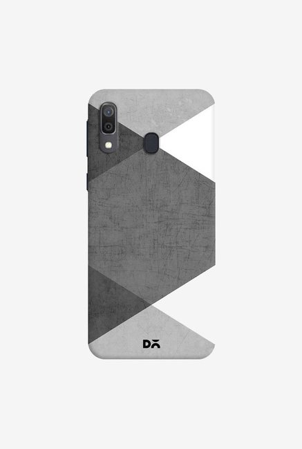 DailyObjects Black and White Triangles Case Cover For Samsung Galaxy A30