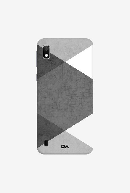 DailyObjects Black and White Triangles Case Cover For Samsung Galaxy A10