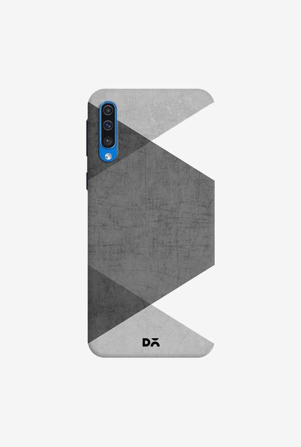 DailyObjects Black and White Triangles Case Cover For Samsung Galaxy A50