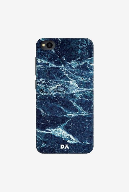 DailyObjects Black And Sea Marble Case Cover For Xiaomi Redmi Go