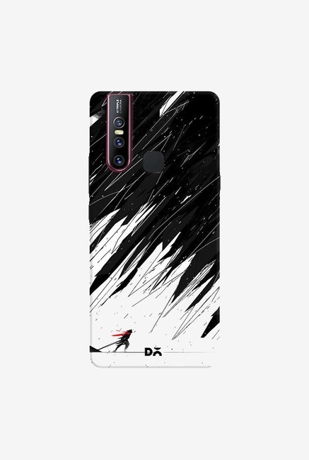 DailyObjects Geometric Storm Case Cover For Vivo V15