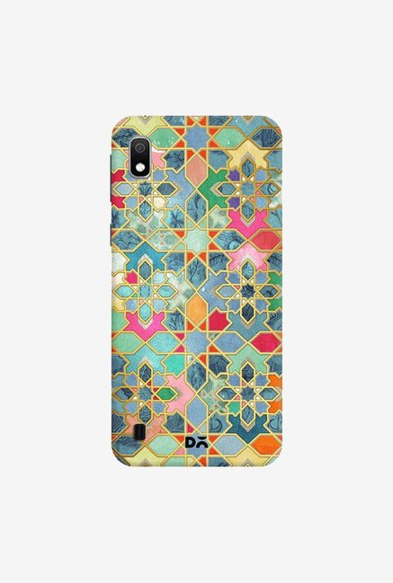 DailyObjects Gilt and Glory Moroccan Mosaic Case Cover For Samsung Galaxy A10
