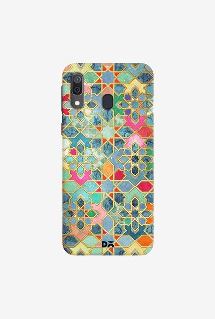 DailyObjects Gilt and Glory Moroccan Mosaic Case Cover For Samsung Galaxy A30