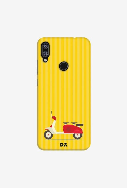 DailyObjects 3 To Go Scooter Yellow Striped Case Cover For Xiaomi Redmi Note 7 Pro