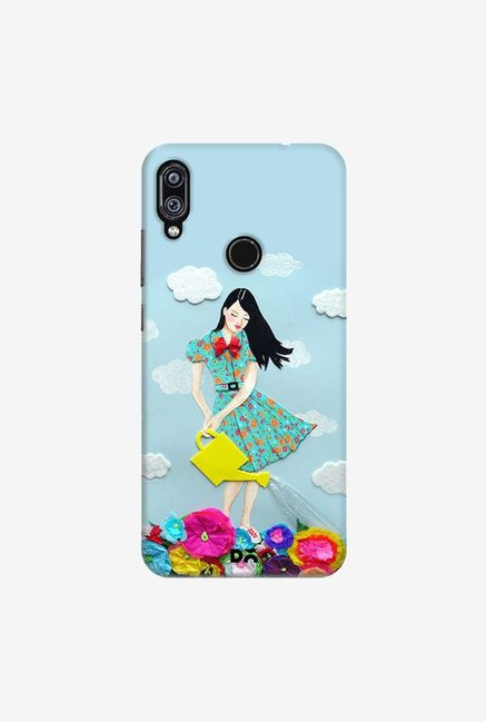 DailyObjects Girl In Flowerland Case Cover For Xiaomi Redmi Note 7 Pro