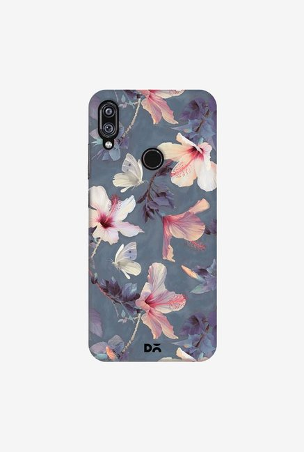 DailyObjects Butterflies And Hibiscus Flowers Case Cover For Xiaomi Redmi Note 7 Pro