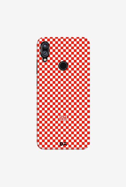 DailyObjects Crimson Checkerboard Case Cover For Xiaomi Redmi Note 7 Pro