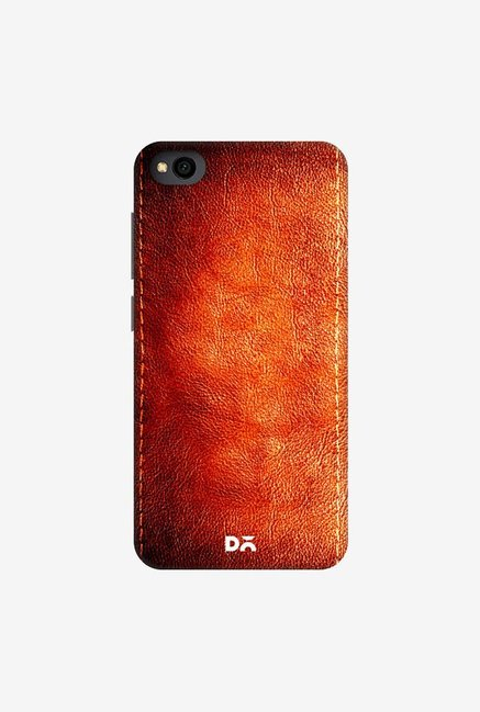 DailyObjects Dark Leather Print Case Cover For Xiaomi Redmi Go