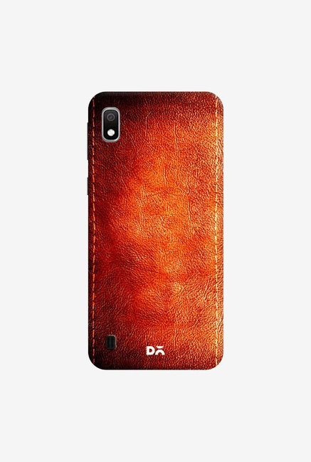 DailyObjects Dark Leather Print Case Cover For Samsung Galaxy A10