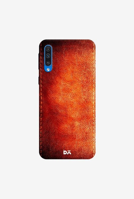 DailyObjects Dark Leather Print Case Cover For Samsung Galaxy A50