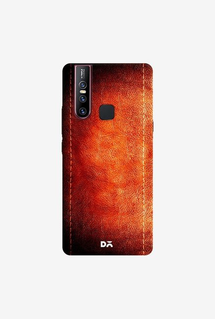 DailyObjects Dark Leather Print Case Cover For Vivo V15