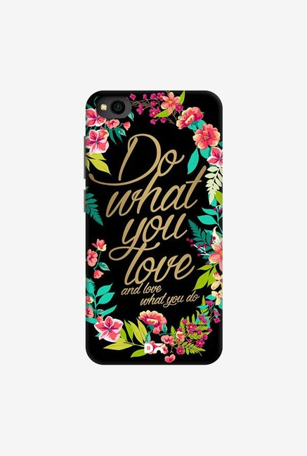 DailyObjects And Love What You Do Case Cover For Xiaomi Redmi Go