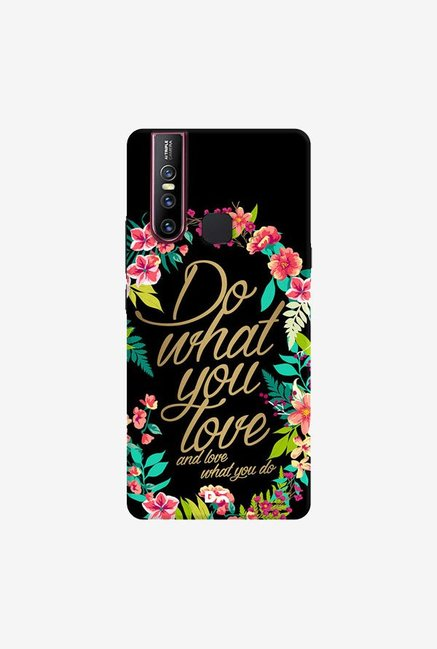 DailyObjects And Love What You Do Case Cover For Vivo V15