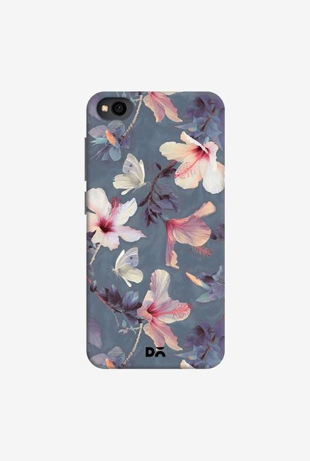 DailyObjects Butterflies And Hibiscus Flowers Case Cover For Xiaomi Redmi Go