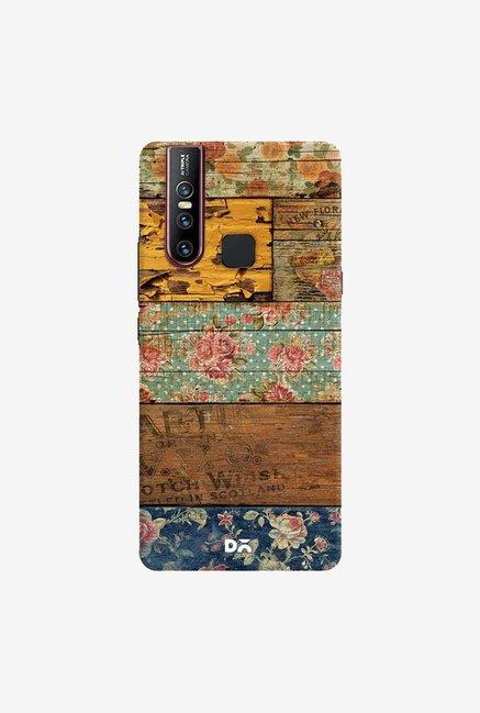 DailyObjects Barroco Style Case Cover For Vivo V15